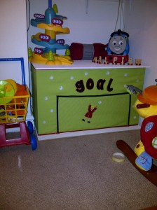 My first toy box creation
